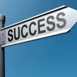 Sign of success