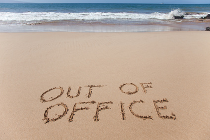 out of office, how to keep your customers happy, and so they still get the same great service they've come to expect