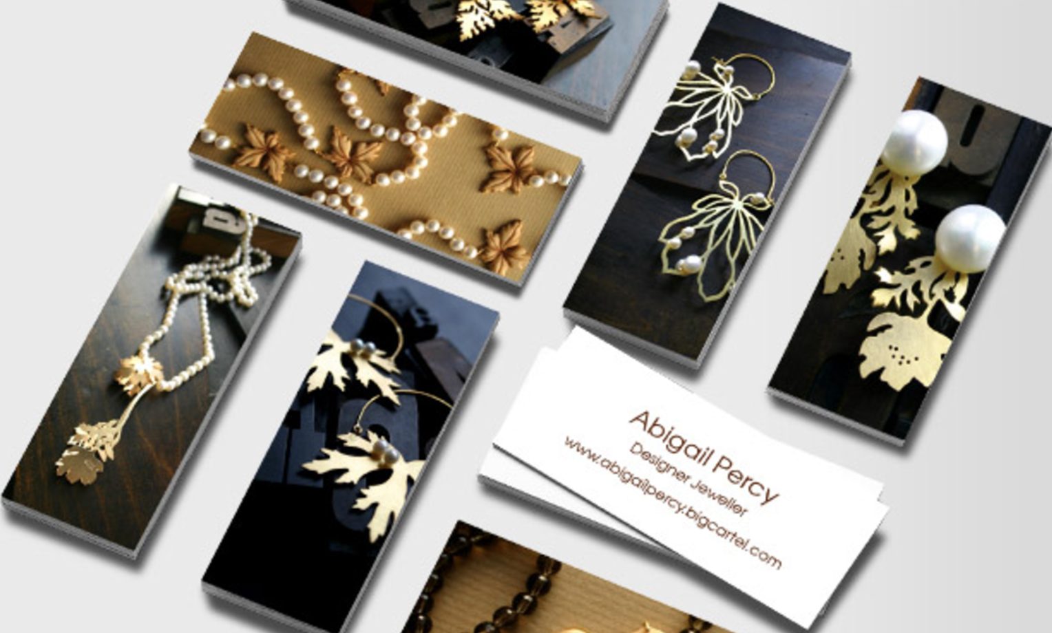 Business Cards for Jewelry Designers - Marketing Jewelry